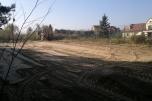 Teren z pozwoleniem na budowę obrzeża Warszawy