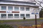 Budynek b. zakładu opakowań ekologicznych w Przyborowie/Borzęcin