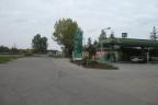 Stacja paliw przy DK-1