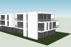 Działka z gotowym projektem apartamentowca PUm 680m2 Piaseczno