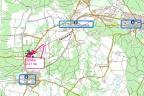 4.100 m2 usługowo- handl. Wejherowo- 5 km. Działka przylega do drogi nr 6