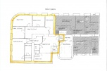 Do wynajęcia lokal biurowy o powierzchni 157 m2 na pierwszym piętrze