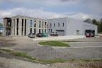 Hala Produkcyjna wraz z rozpoczętą budową obiektu biurowego