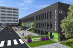 900 m2 powierzchnia biurowo-usługowa Centrum Biurowe Tetris Katowice al. Roździeńskiego 188c