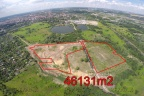 Teren inwestycyjny 4,6 ha w odległości 500m od węzła autostrady A1.