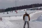 Sudety - grunt przy stoku narciarskim