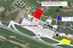 Lotnisko Gdańsk. 0,33 ha pod hotel, parking, usługi.