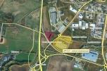 """9.632 m2 gruntu  produkcyjno- usługowo- handlowego  przy węźle drogowym """"Rusocin"""" pod Gdańskiem"""