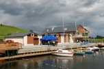 Ośrodek wypoczynkowy nad Jeziorem Raduńskim z Stanicą Wodną
