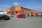 Budynek wolnostojący magazynowo-biurowy 1000 m  na działce utwardzonej 7350 m kw