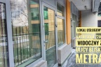 Lokal 72 m2 biurowo-usługowy narożny Witryna Ip. Metro Marymont