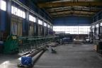 Trzy hale przemysłowe, biurowec - Kielce