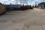 Plac do 7000 m2 przy granicy z Niemcami, utwardzony, decyzje środowiskowe na odpady