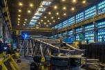 Hala produkcyjna z suwnicą 3600 m2 na działce o pow. 11000 m2. Wytwórnia konstrukcji stalowych.