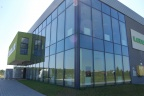 Zakład produkcyjny w Rogoźnicy ok. Rzeszowa airport Jasionka autostrada A4