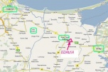 Sprzedam działkę pod stację paliw przy trasie Gdańsk-W-wa
