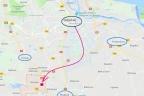 Pod M.O.P, hotel, gastronomię, stacje paliw - węzeł Straszyn na Obwodnicy Gdańska