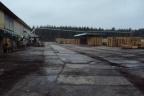 Obiekt przemysłowy przy granicy niemieckiej