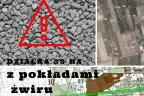 Żwir i piasek - działka pod Tarczynem - mazowieckie