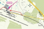 Nowy Terminal Lotniska Gdańsk-100m- 1 ha pod hotel, auto-sa