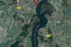 Działka inwestycyjna z linią brzegową 4ha - pod ośrodek wypoczynkowy - Demlin koło Gdańska