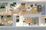 Dwa niezależne mieszkania: 3 oraz 2 pokojowe pod wynajem w cenie jednego.