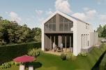Dwie inwestycje deweloperskie dom i mieszkania
