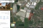 Grunt przy wielkim osiedlu pod usługi produkcje , handel detaliczny, hurtowy w Bielany Wrocławskie