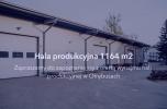Hala produkcyjna pod produkcję ciężką 1164 m2