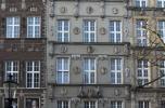 Kompleks kamienic na gdańskiej Starówce