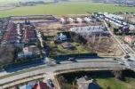 Koncepcja 47 segmentów w zabudowie szeregowej. Miejscowy plan zagospodarowania przestrzennego.