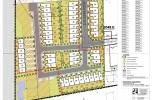Koncepcja 49 domów w zabudowie szeregowej, MPZP
