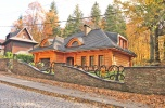 Luksusowa rezydencja w górach.