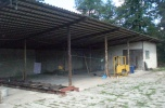 Nieruchomość pow. 110ar, zabudowana budynkiem parterowym o pow. 450 m2