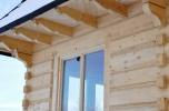 Nowa chata góralska z płazów na widokowej działce