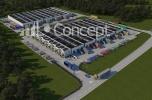 Park logistyczny - kompleks hal magazynowych - sprzedam