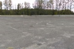 Parking  - działka inwestycyjna, teren przemysłowy
