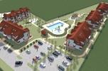 Projekt resortu wakacyjnego z działką