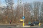 Pruszków / Parzniew Rondo Solidarności, stacja PkP 300m mpzp 1273 m2 wszystkie media, asfalt
