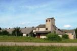 Punkt skupu zboża w pobliżu Wilna na Wileńszczyźnie na Litwie