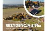 Wyjątkowa oferta, Dworek Osowo z parkiem 3,9 ha